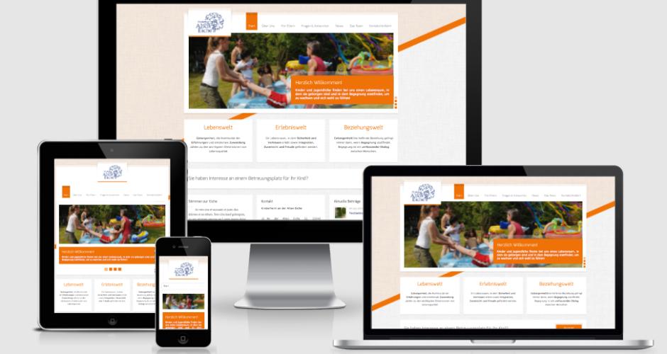 Neue Webseite online - Auch für mobile Endgeräte optimiert